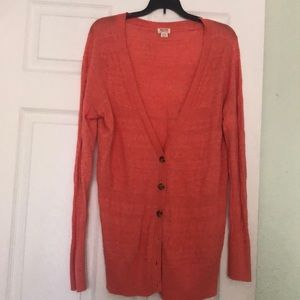 Boho design cardigan- worn only a couple of times